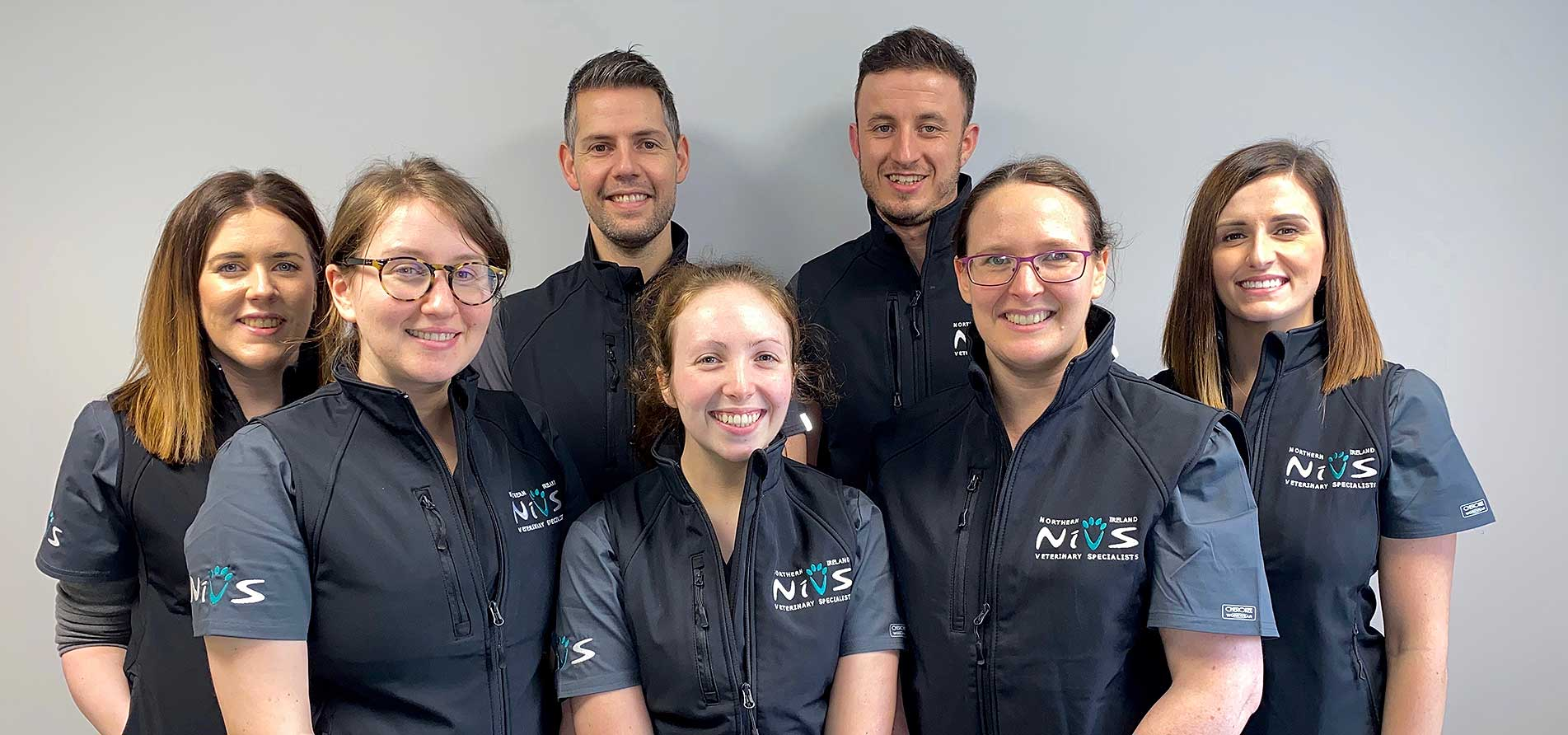 The team at Northern Ireland Veterinary Specialists